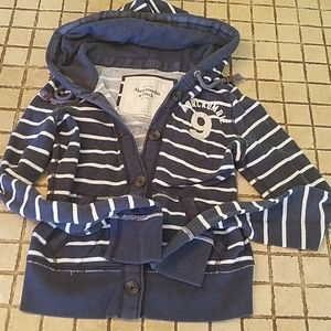 Abercrombie Small Button Down Hoodie